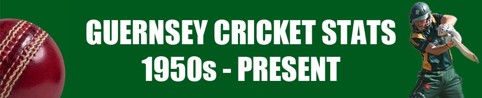 Guernsey Cricket Stats