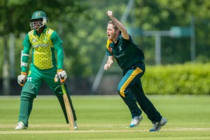 During Guernsey v Nigeria in WCL5 played at Granville in Jersey 24th May 2016   www.guernseysportphotography.com