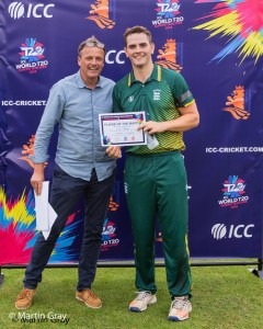 Lucas Barker Man of the Match Award
